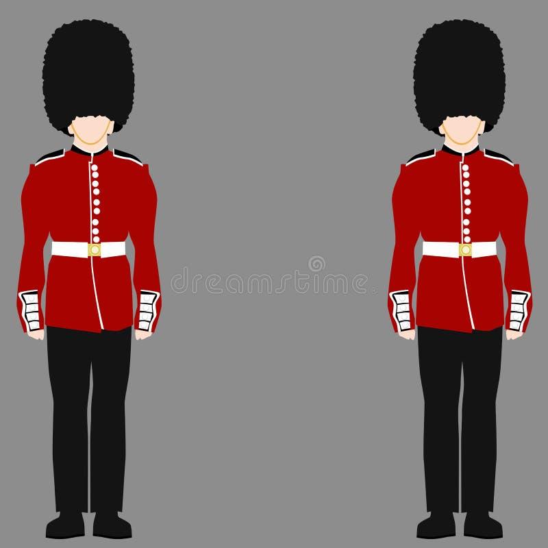 British Royal Guard Stock Vector Illustration Of Castle