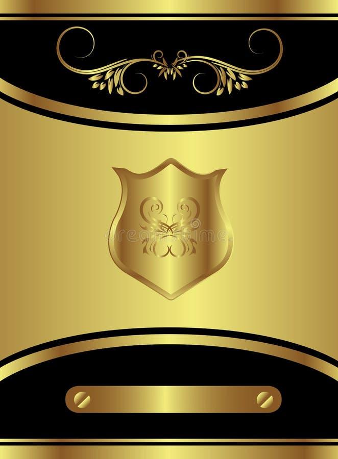 Royal Butterfly Brand vector illustration
