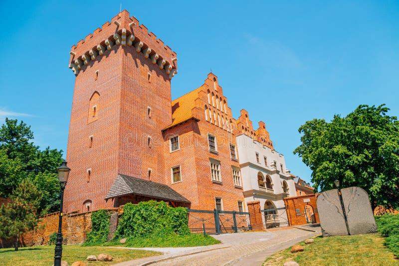 Royal Castle in Poznan, Polen stock afbeelding