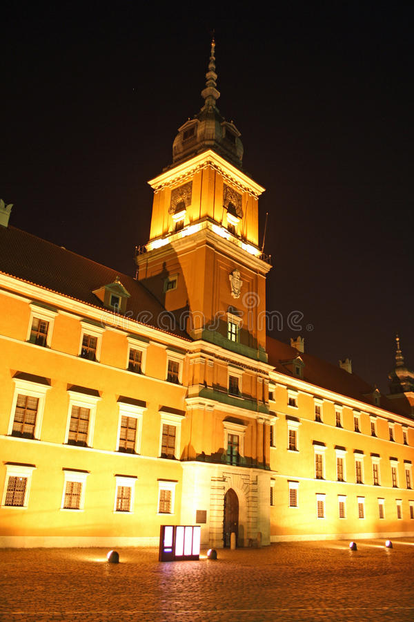 Download Royal Castle In Warsaw (Poland) At Night Stock Photo - Image: 21934426