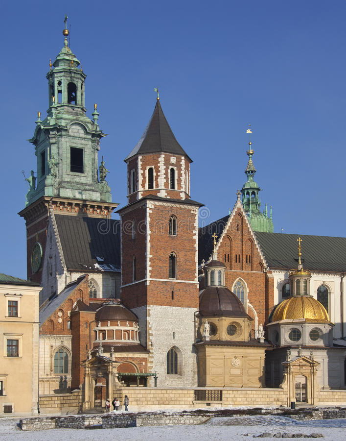 Download Royal Cathedral - Wawel Castle - Krakow - Poland Editorial Image - Image: 23610975