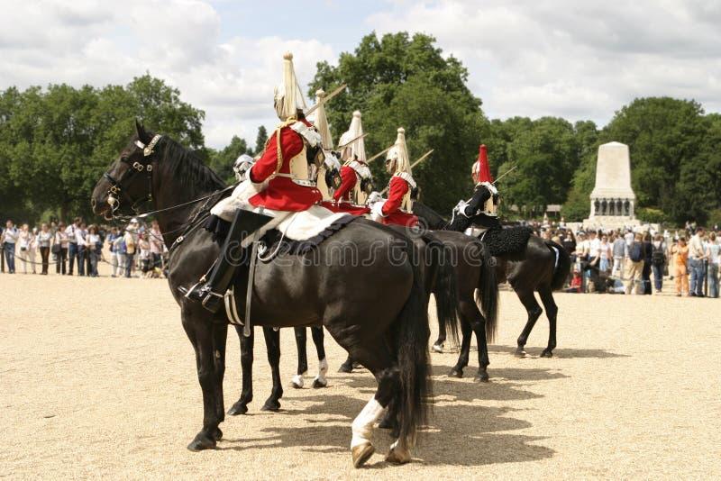 Royal Cavalry On Parade Editorial Stock Image