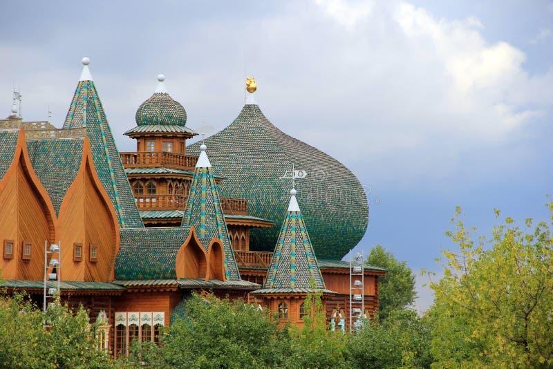 Royal chambers. Kolomenskoe, Moscow. royalty free stock images