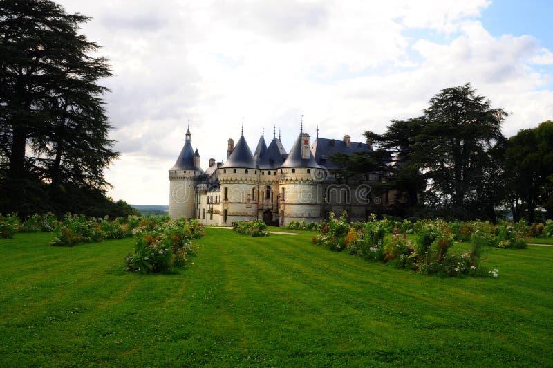 The royal chateau de Chaumont, Loire stock image