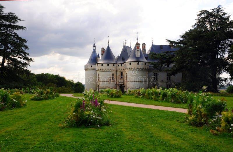 The royal chateau de Chaumont, Loire stock photo
