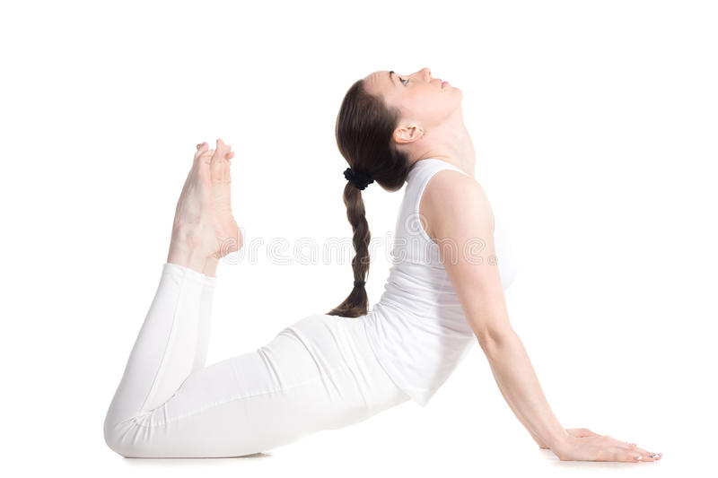 Download Royal Cobra Yoga Pose Stock Image Of Exercise