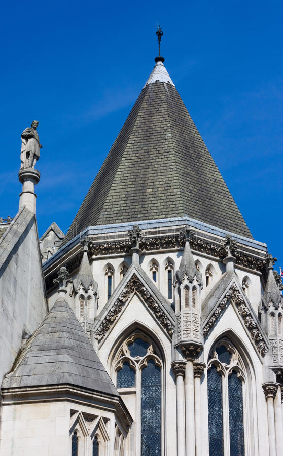 Royal Courts Of Justice. Royalty Free Stock Image