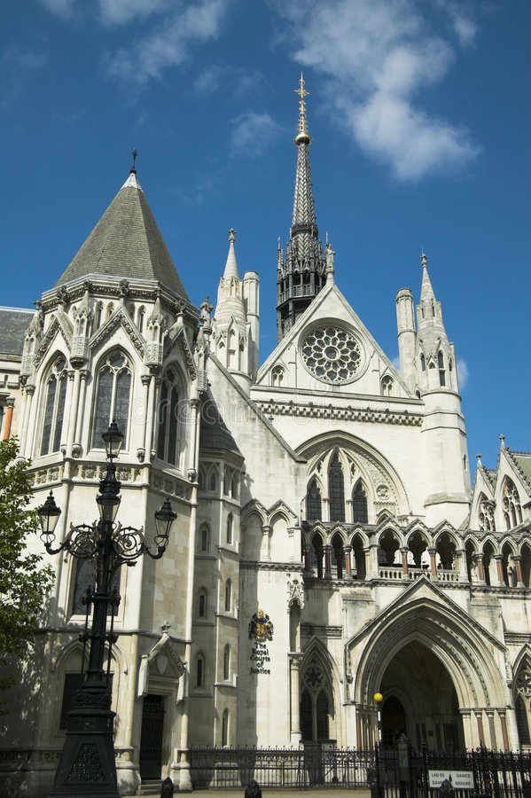Download Royal Courts of Justice stock photo. Image of historic - 3140384