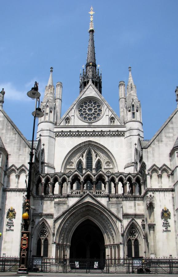 Free Royal Courts Of Justice Royalty Free Stock Photo - 18149885
