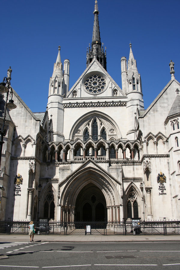 Free Royal Courts Of Justice Royalty Free Stock Photo - 2985375