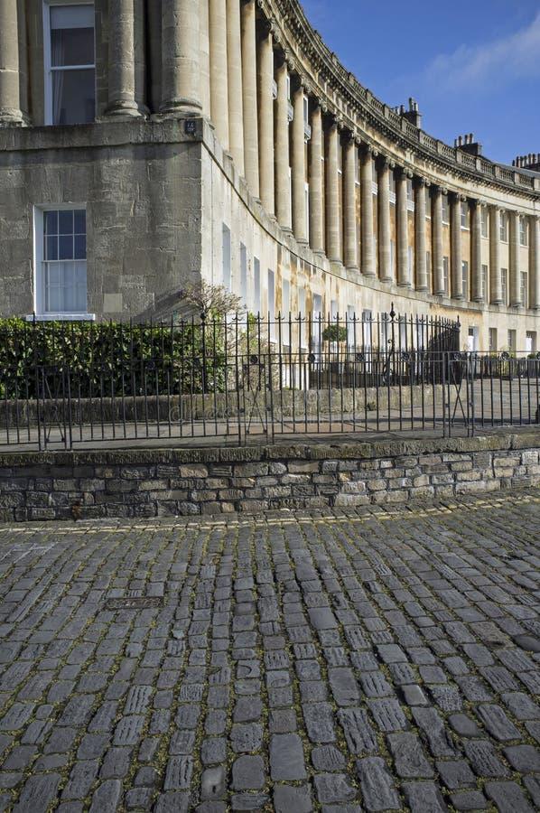 Royal Crescent Stock Image