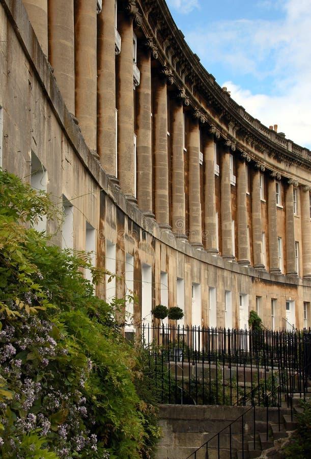 Royal Crescent, Bath stock photography