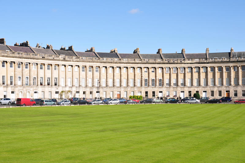 Download The Royal Crescent In Bath England Royalty Free Stock Image - Image: 21806666