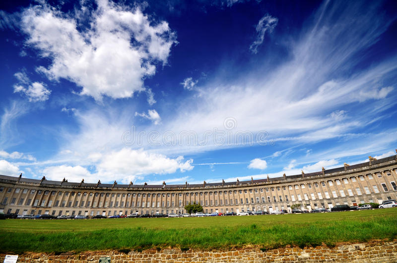 Download Royal Crescent, Bath UK stock photo. Image of england - 18151710