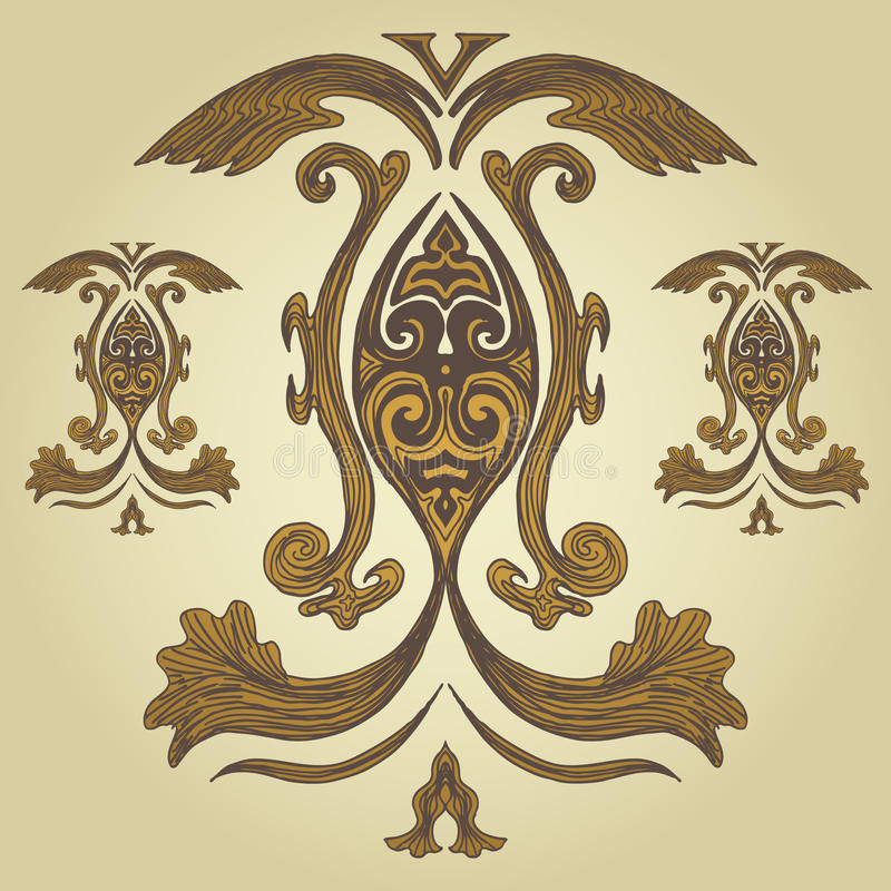 Download Royal Crest stock vector. Illustration of classic, elegant - 9437494