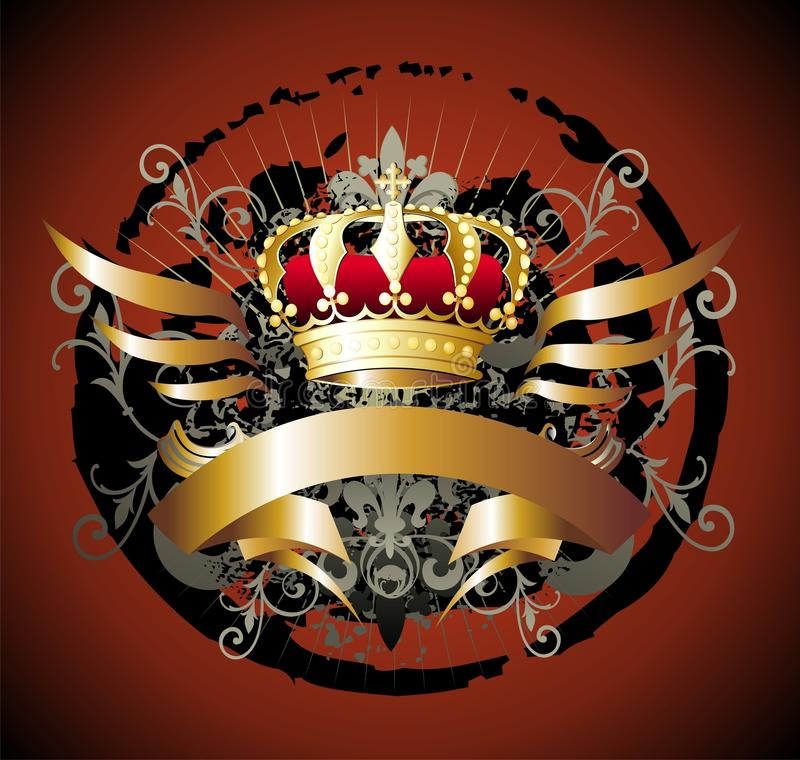 Download Royal crown stock vector. Illustration of decorative - 11268225