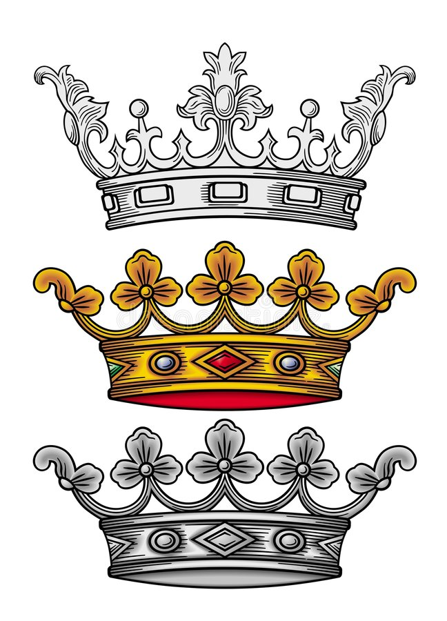 Free Royal Crown Vector Stock Photography - 4672092