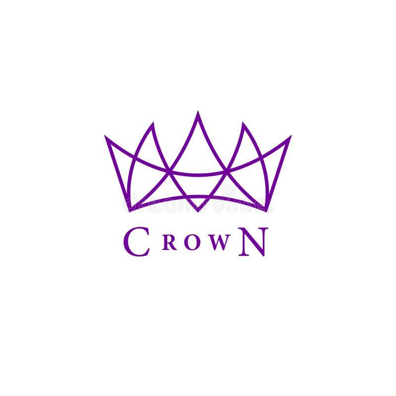 Royal crowns deluxe illustration de vecteur