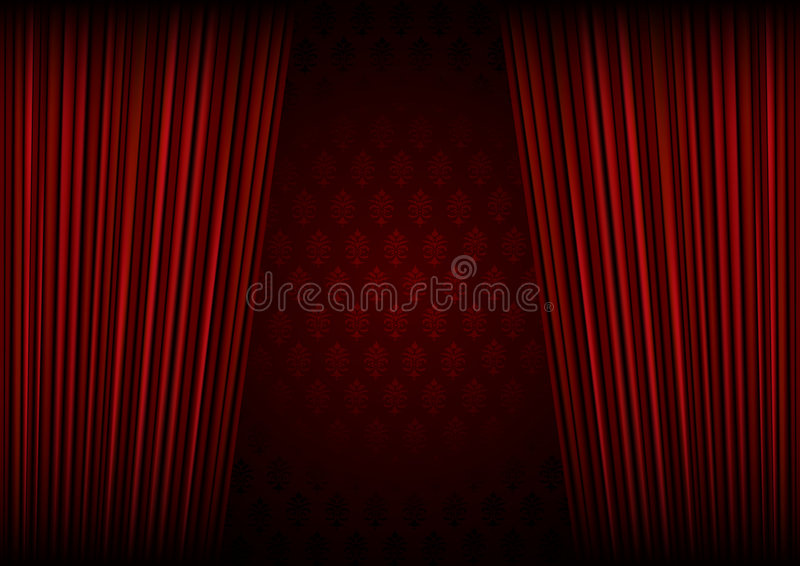 Royal Curtain Call stock photography
