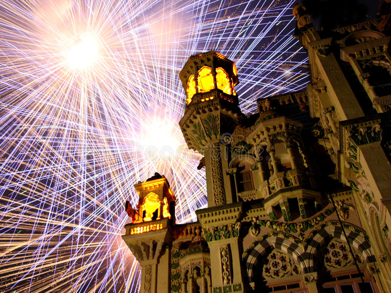 Royal Diwali stock photography