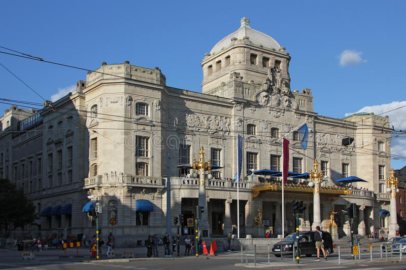 Royal Dramatic Theatre, Stockholm stock photography