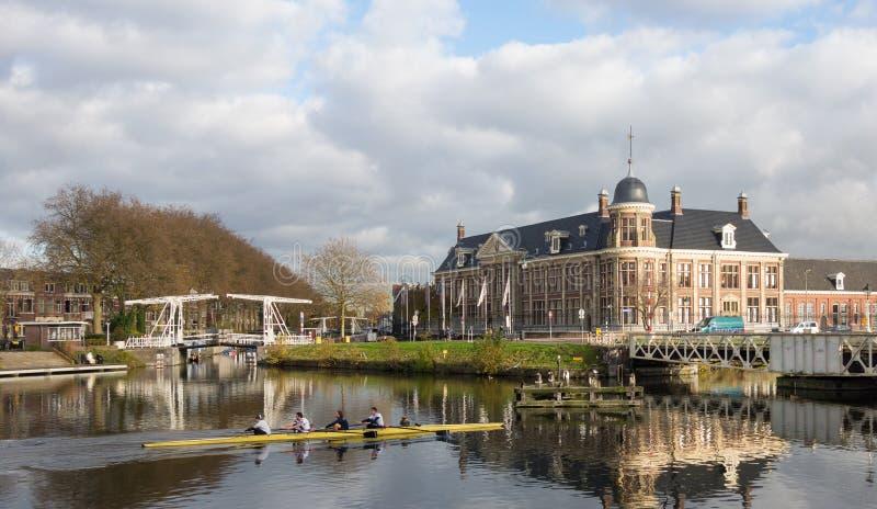 Royal Dutch-Munt die Utrecht bouwt royalty-vrije stock foto's