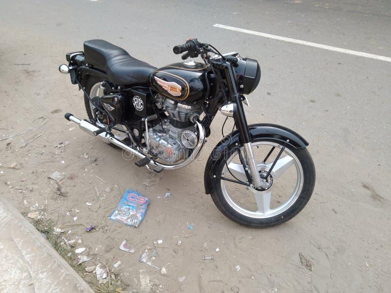 Royal Enfield 350 dug dud. Bike royal enfield 350 dug stock photography