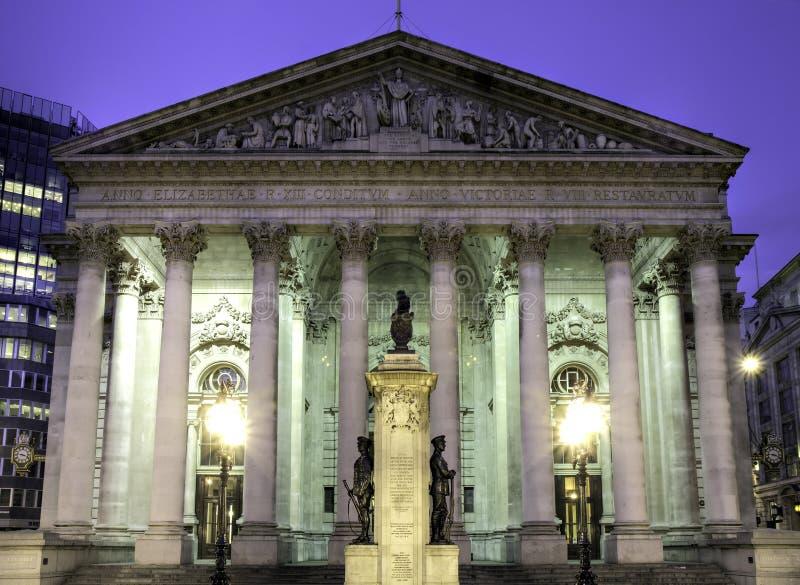 Royal Exchange, HDR version royalty free stock images