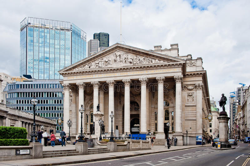 Royal Exchange London Editorial Photo