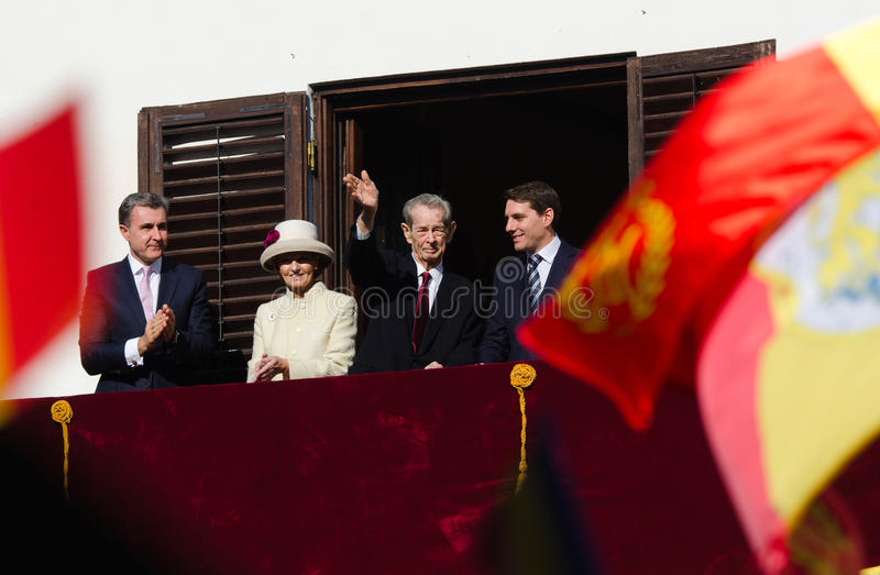 Royal Family of Romania royalty free stock photos