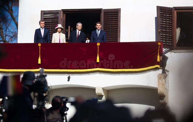 Royal Family of Romania royalty free stock photos