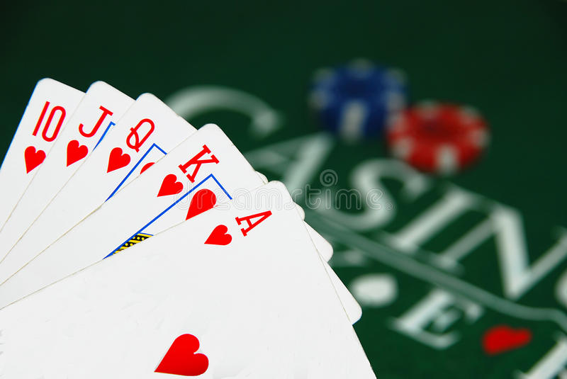 Download Royal flash stock image. Image of isolated, cards, luck - 10709181