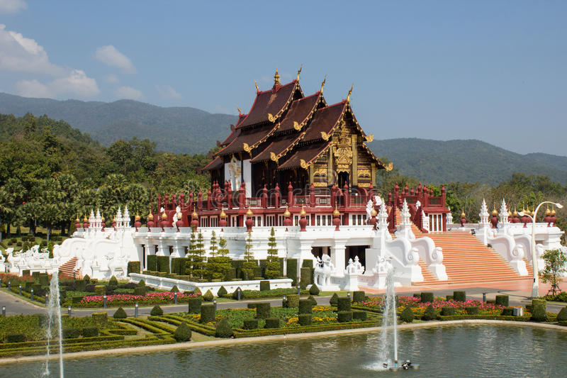 The Royal Flora Ratchaphrue. K chiangmai Thailand stock photos