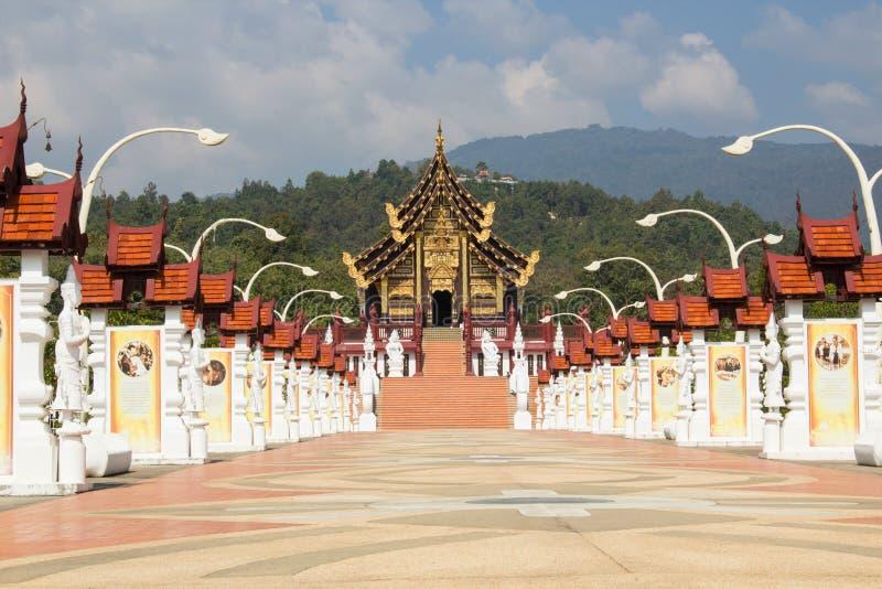 The Royal Flora Ratchaphruek chiangmai royalty free stock images