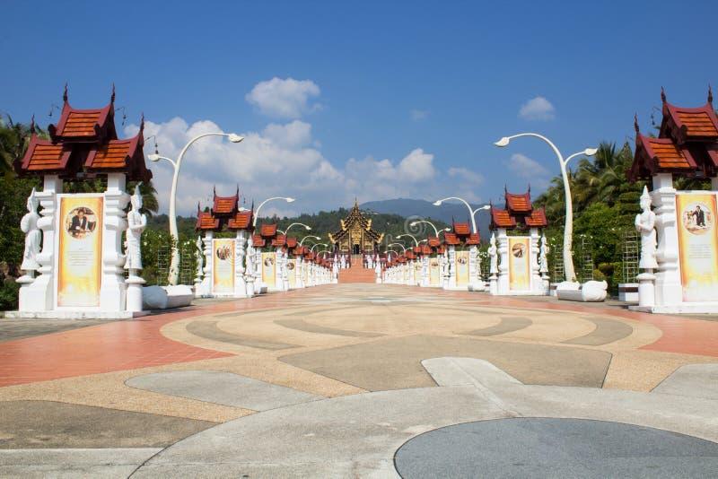 The Royal Flora Ratchaphruek chiangmai stock images
