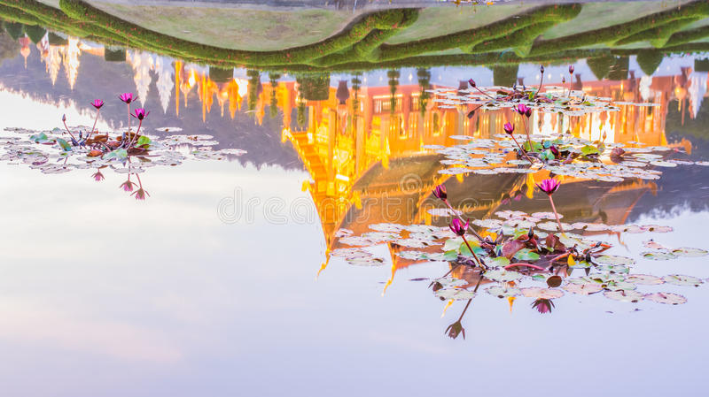Royal Flora temple (ratchaphreuk)in Chiang Mai,Thailand royalty free stock photo