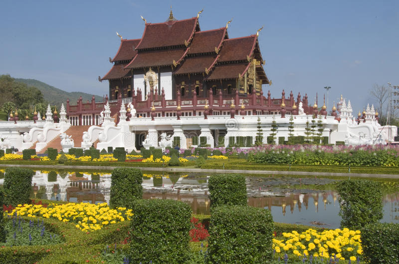 Download Royal Flora Temple In Thailand Stock Photo - Image: 12061804