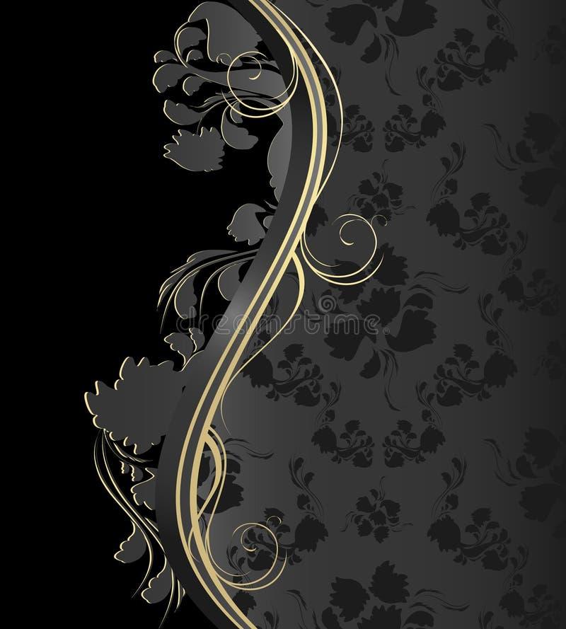 Download Royal floral ornament stock vector. Illustration of pattern - 9617668
