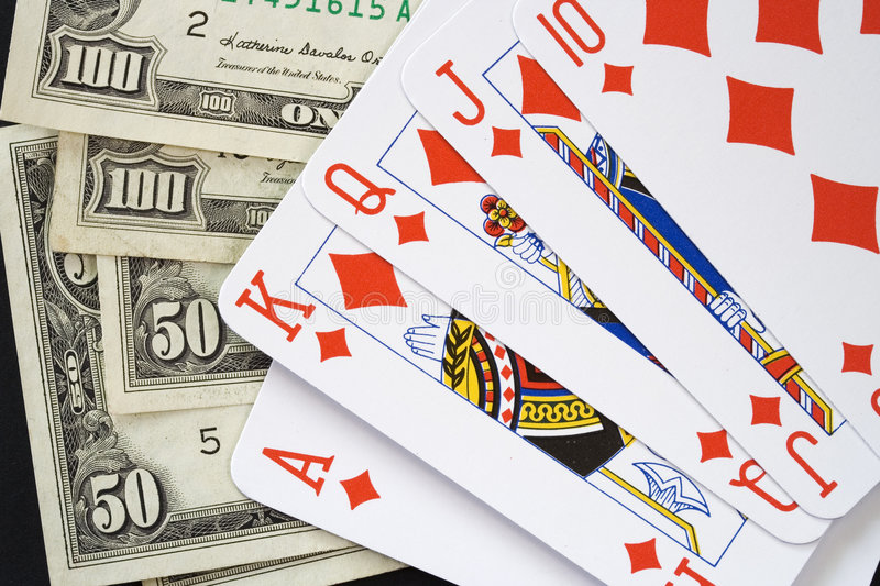 Download Royal flush earning stock image. Image of states, currency - 5424535