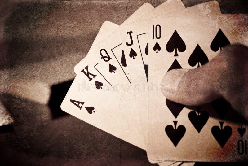 Download Royal Flush Winning Hand stock photo. Image of hold, poker - 15787326
