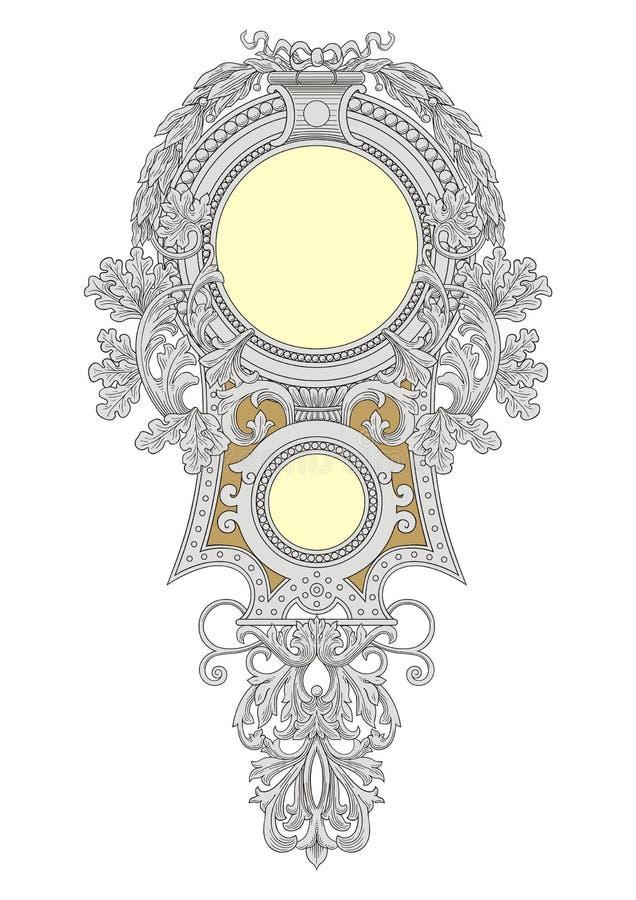 Royal Frame vector illustration