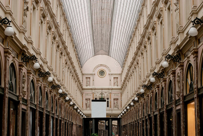Download Royal galleries brussels stock image. Image of store - 25831591