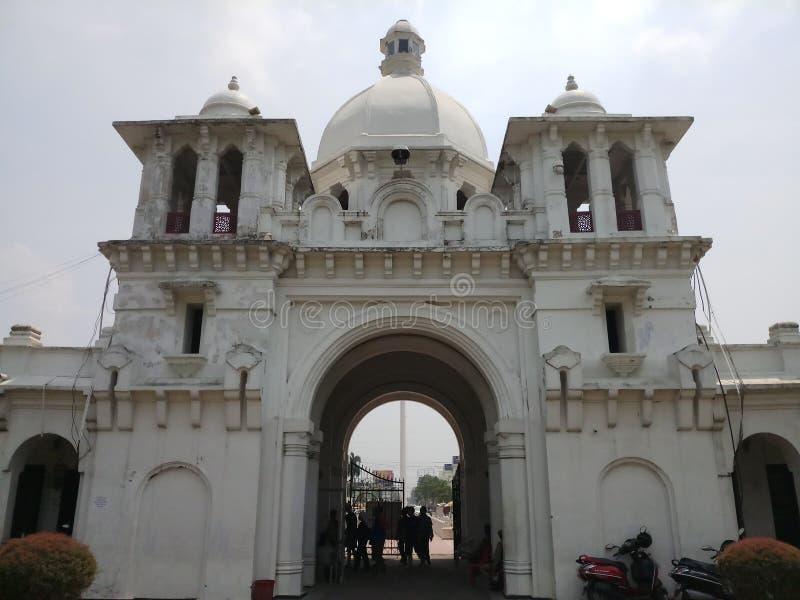 Royal gate of Agartala stock photo