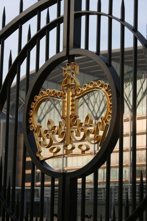 Royal Gates stock image