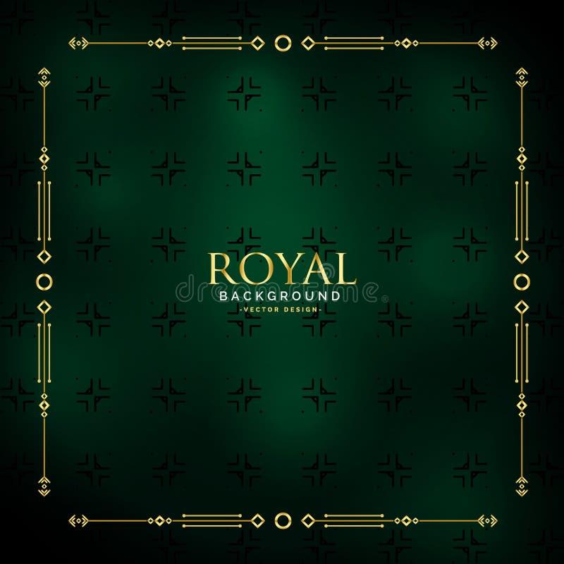 Royal golden background design vector royalty free illustration
