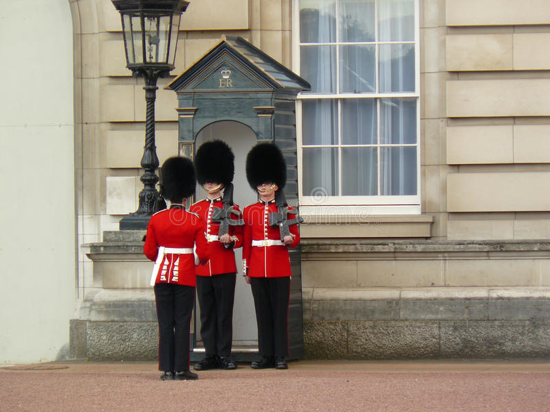 Royal guard at Buckingham Palace
