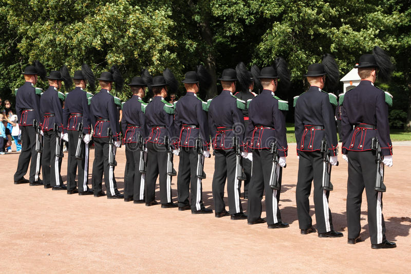 Download Royal Guard In Norway Editorial Image - Image: 16083790