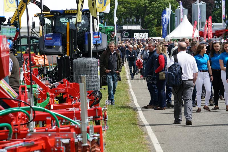 The Royal Highland Show 2019. General view of the Royal Highland Show 2019, held at the show ground at Ingleston, near Edinburgh, Scotland, in June 2019. The stock image