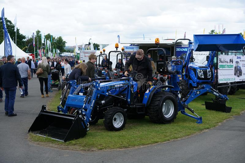 The Royal Highland Show 2019. General view of the Royal Highland Show 2019, held at the show ground at Ingleston, near Edinburgh, Scotland, in June 2019. The stock photo