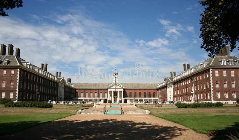 Royal Hospital Chelsea, London royalty free stock photos